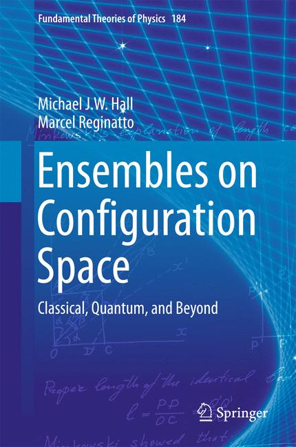 Cover of 'Ensembles on Configuration Space'