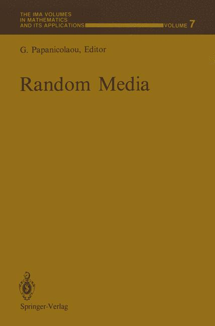 Cover of 'Random Media'