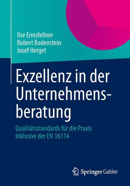 Cover of 'Exzellenz in der Unternehmensberatung'