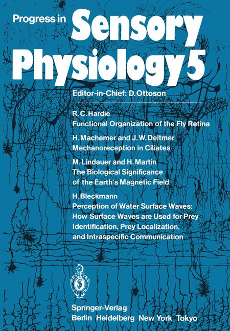 Cover of 'Progress in Sensory Physiology'