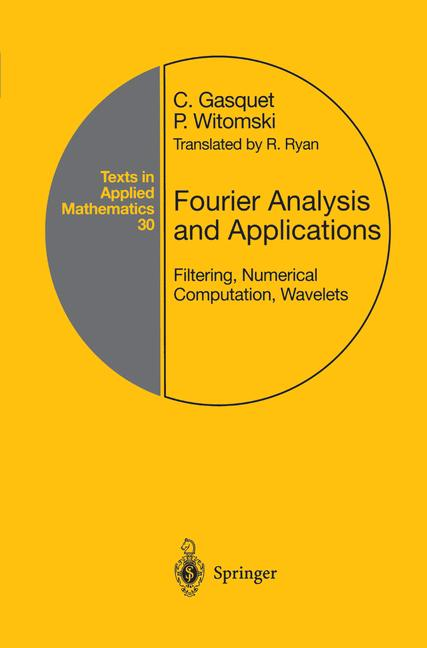 Cover of 'Fourier Analysis and Applications'