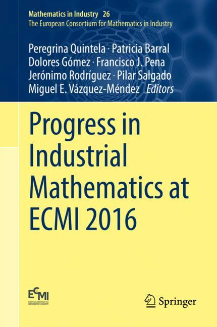 Cover of 'Progress in Industrial Mathematics at ECMI 2016'