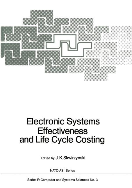 Cover of 'Electronic Systems Effectiveness and Life Cycle Costing'