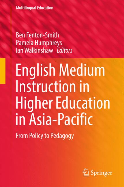 Cover of 'English Medium Instruction in Higher Education in Asia-Pacific'