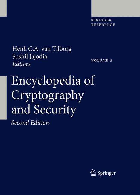 Cover of 'Encyclopedia of Cryptography and Security'