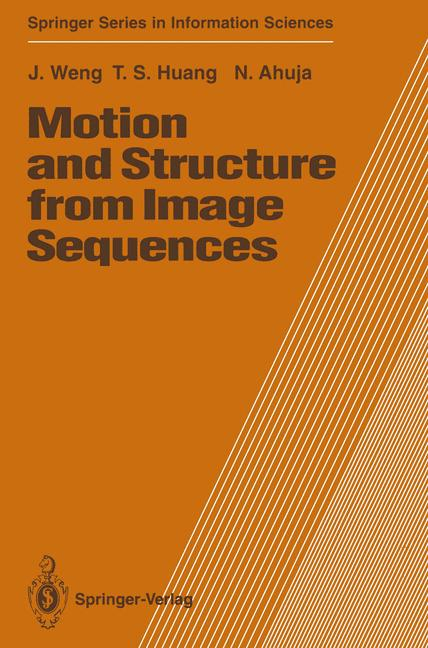 Cover of 'Motion and Structure from Image Sequences'