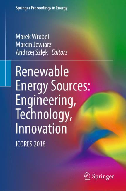 Cover of 'Renewable Energy Sources: Engineering, Technology, Innovation'