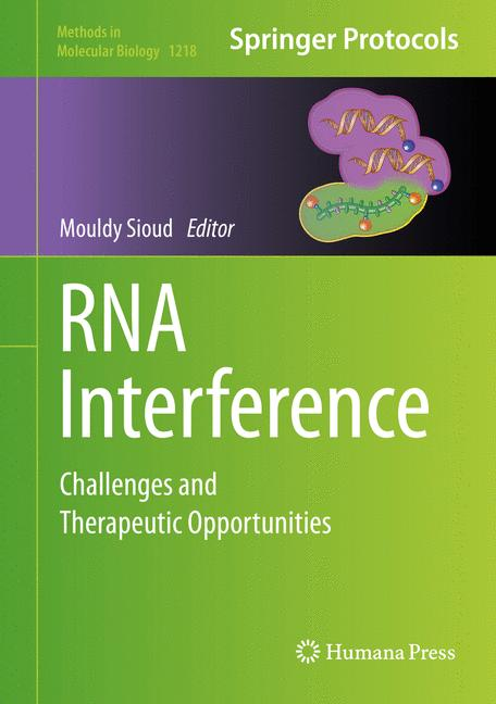 Cover of 'RNA Interference'
