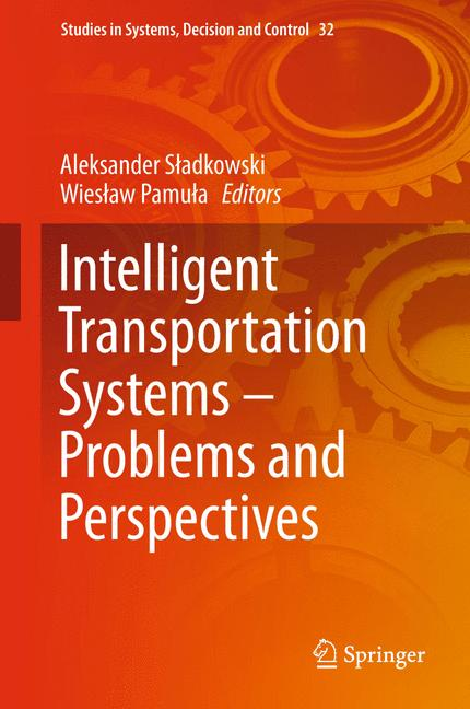 Cover of 'Intelligent Transportation Systems – Problems and Perspectives'