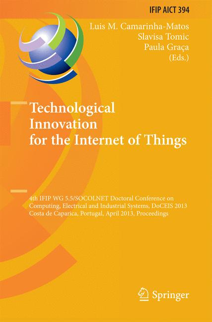 Cover of 'Technological Innovation for the Internet of Things'