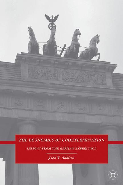 Cover of 'The Economics of Codetermination'