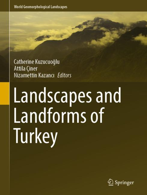 Cover of 'Landscapes and Landforms of Turkey'