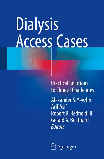 Cover of 'Dialysis Access Cases'