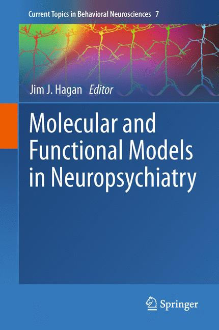 Cover of 'Molecular and Functional Models in Neuropsychiatry'