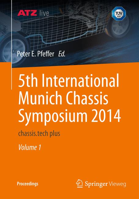 Cover of '5th International Munich Chassis Symposium 2014'