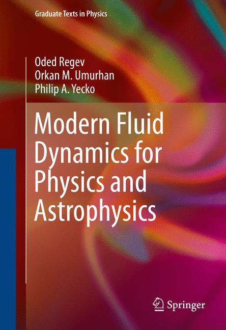 Cover of 'Modern Fluid Dynamics for Physics and Astrophysics'