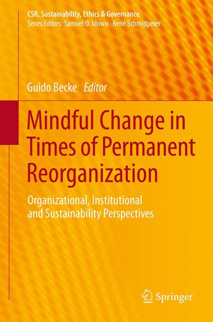 Cover of 'Mindful Change in Times of Permanent Reorganization'