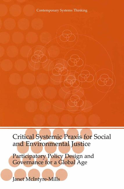 Cover of 'Critical Systemic Praxis for Social and Environmental Justice'