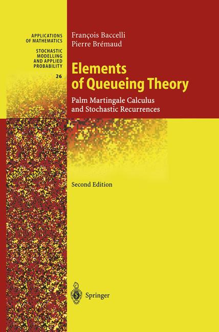 Cover of 'Elements of Queueing Theory'