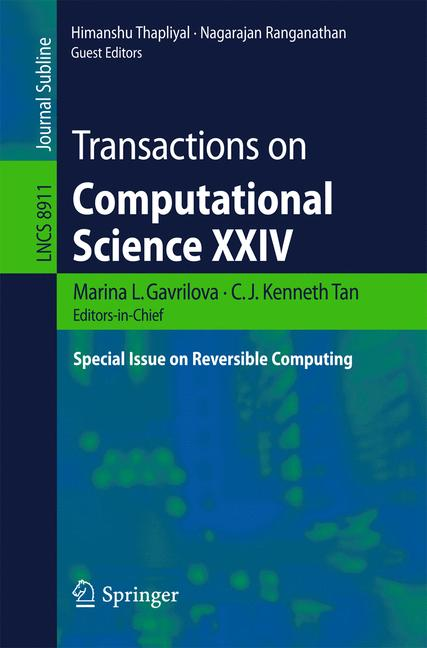 Cover of 'Transactions on Computational Science XXIV'