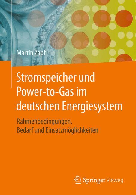 Cover of 'Stromspeicher und Power-to-Gas im deutschen Energiesystem'