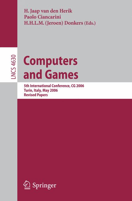 Cover of 'Computers and Games'
