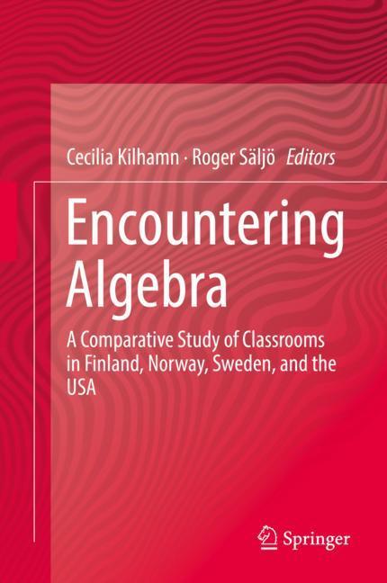 Cover of 'Encountering Algebra'