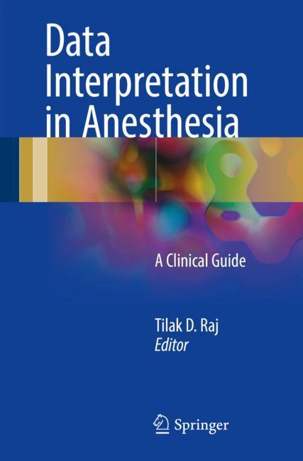 Cover of 'Data Interpretation in Anesthesia'