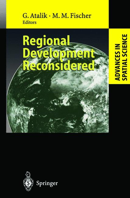Cover of 'Regional Development Reconsidered'