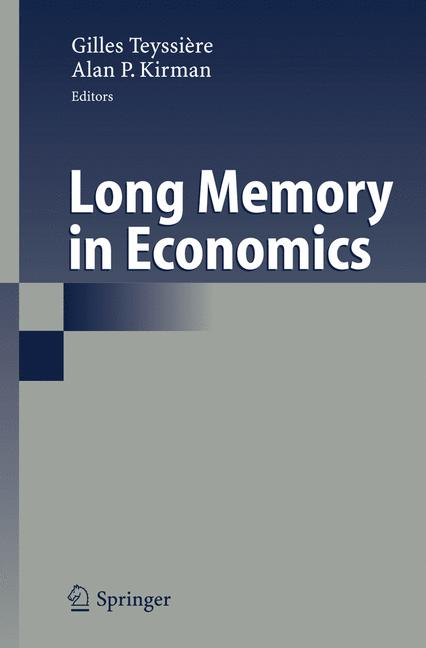 Cover of 'Long Memory in Economics'