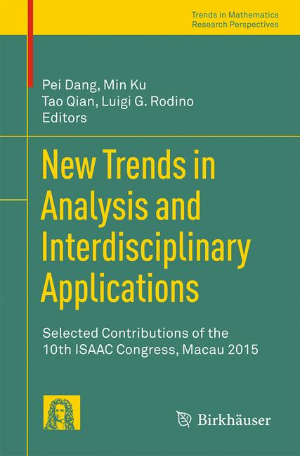 Cover of 'New Trends in Analysis and Interdisciplinary Applications'