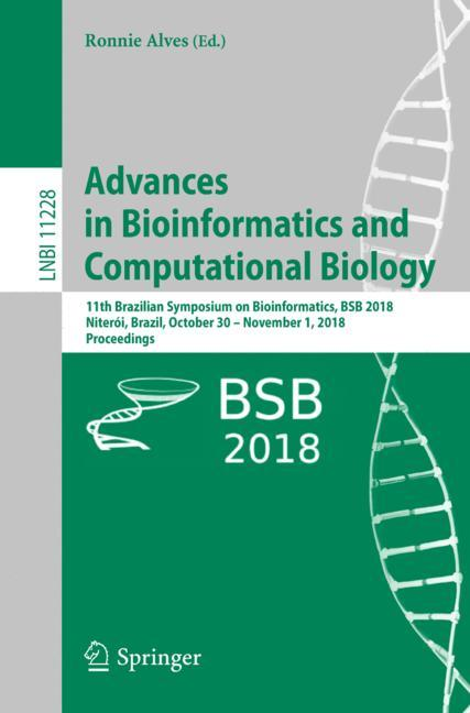 Cover of 'Advances in Bioinformatics and Computational Biology'