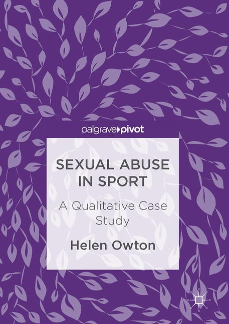 Cover of 'Sexual Abuse in Sport'