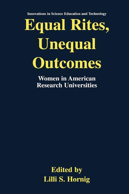 Cover of 'Equal Rites, Unequal Outcomes'