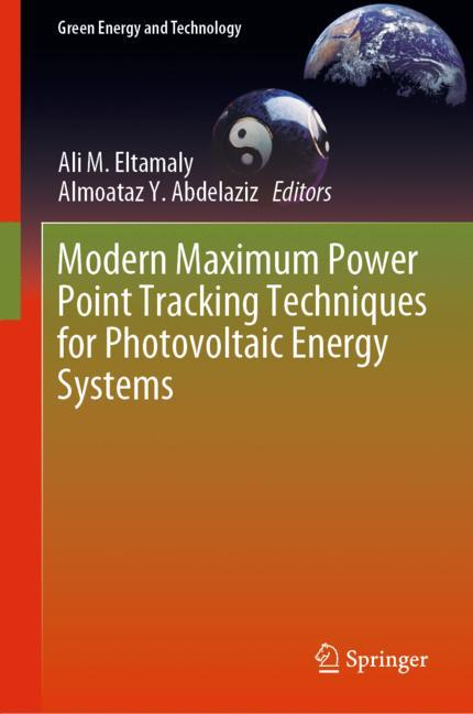 Cover of 'Modern Maximum Power Point Tracking Techniques for Photovoltaic Energy Systems'