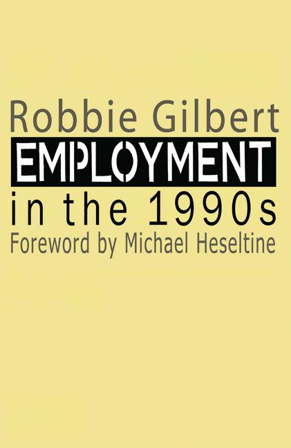 Cover of 'Employment in the 1990s'