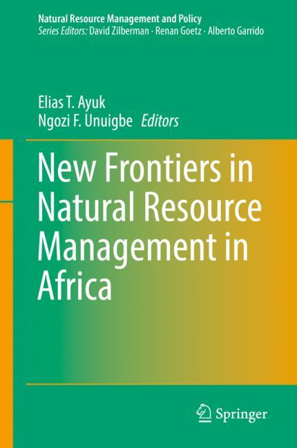 Cover of 'New Frontiers in Natural Resources Management in Africa'