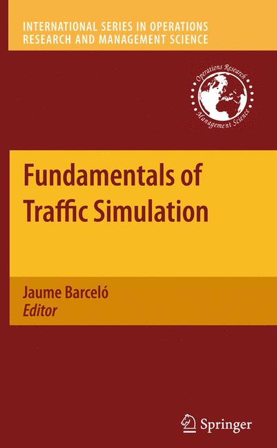 Cover of 'Fundamentals of Traffic Simulation'