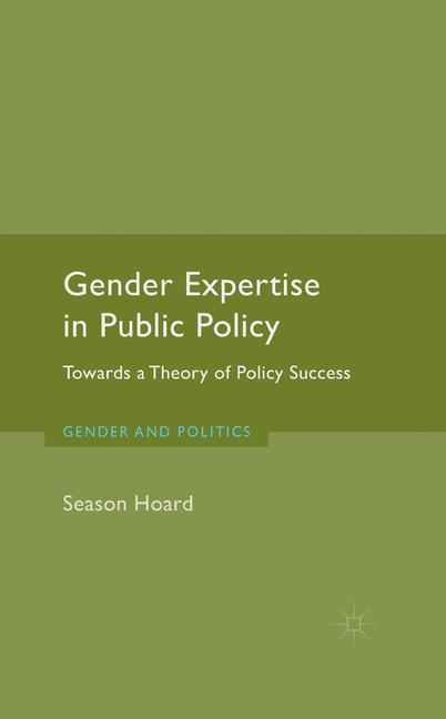 Cover of 'Gender Expertise in Public Policy'