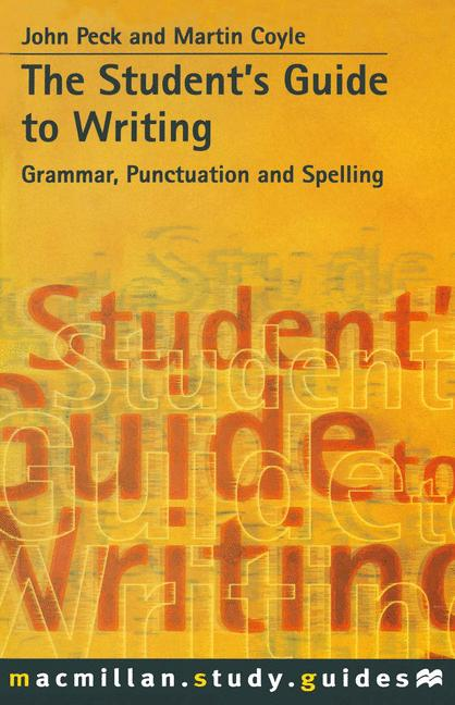 Cover of 'The Student's Guide to Writing'