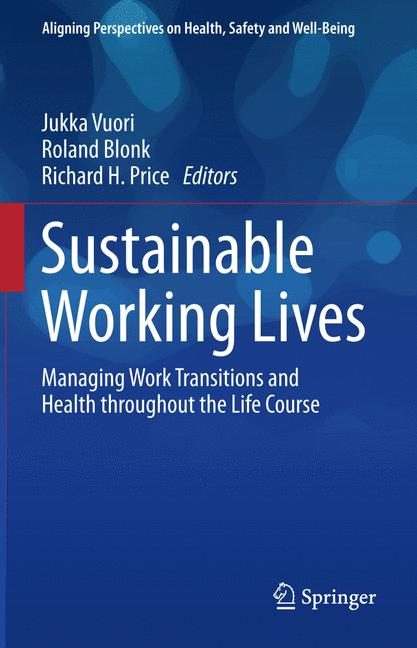 Cover of 'Sustainable Working Lives'