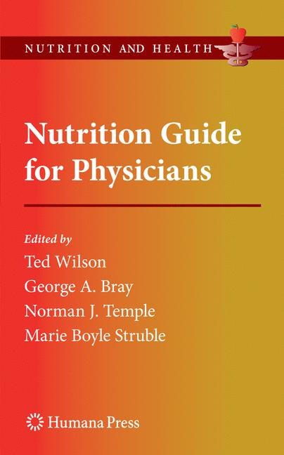 Cover of 'Nutrition Guide for Physicians'