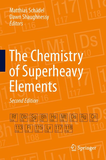 Cover of 'The Chemistry of Superheavy Elements'