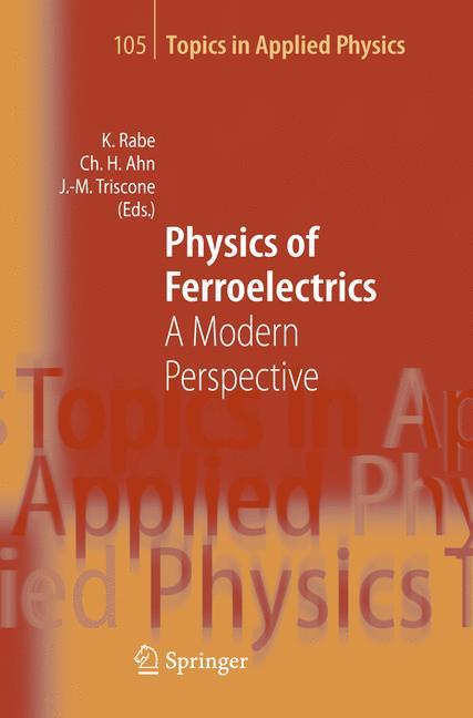 Cover of 'Physics of Ferroelectrics'