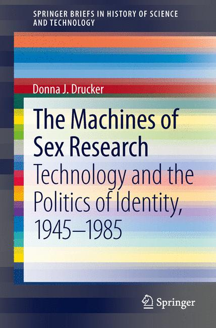 Cover of 'The Machines of Sex Research'