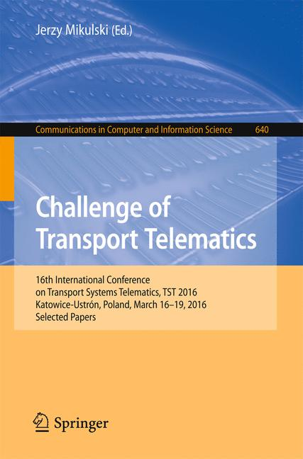 Cover of 'Challenge of Transport Telematics'