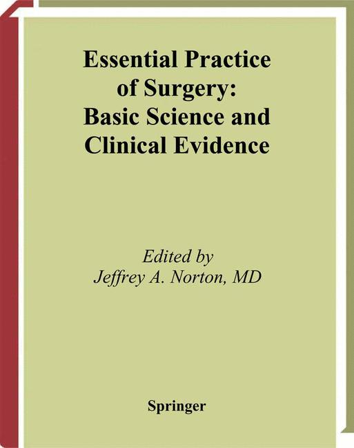 Cover of 'Essential Practice of Surgery'