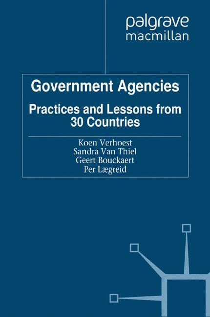 Cover of 'Government agencies'