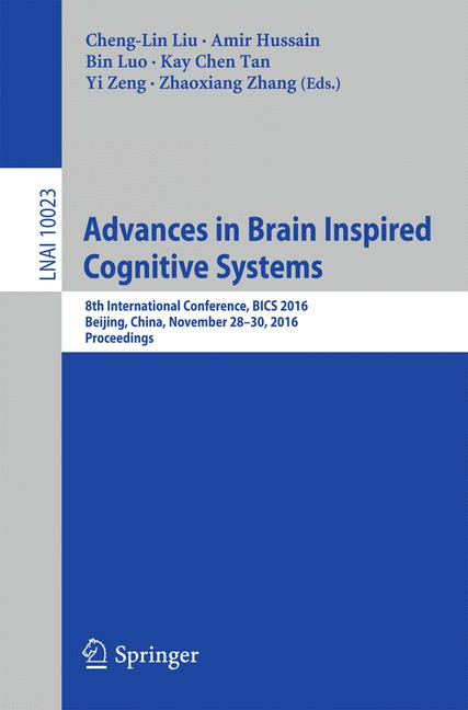 Cover of 'Advances in Brain Inspired Cognitive Systems'