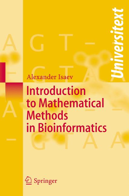 Cover of 'Introduction to mathematical methods in bioinformatics'